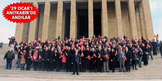 29 Ocak ANITKABİR'de ATA'nın Huzurunda Anıldı
