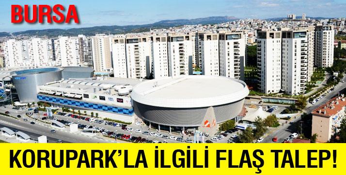 Bursa Korupark'ta yıkımı istenen daireler için ilginç teklif!