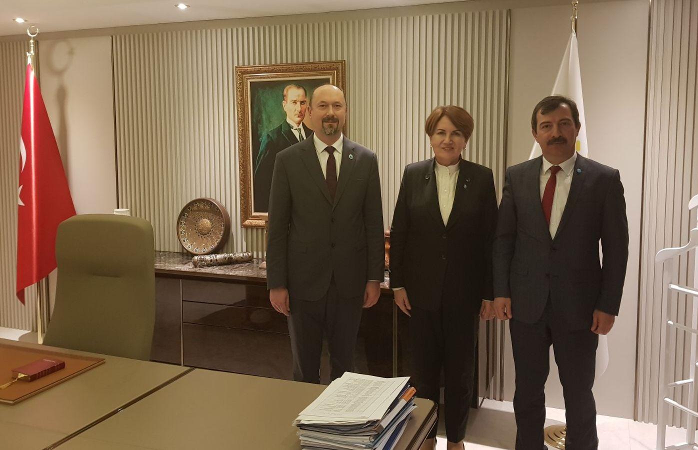 Osmangazi Kurucu İlçe Başkanı Olarak Genel Başkanımızı Ziyaret Ettik